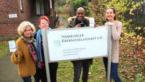 Franziska Holz, Heide Lakemann, Yared Dibaba, Monika Bohrmann Kopie